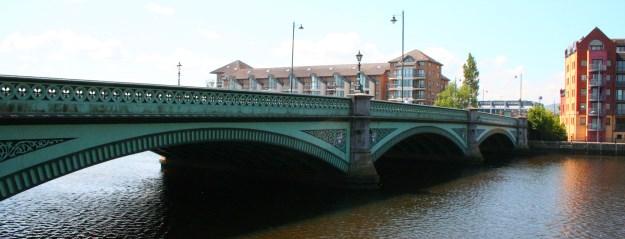 Side of Albert Bridge Belfast