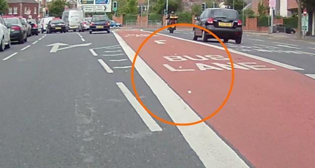 East Bridge Street bus lane reduced