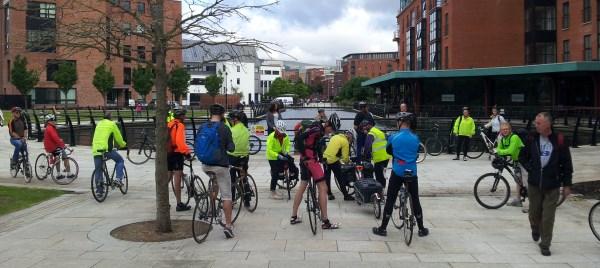 Bike Week Ride on Belfast