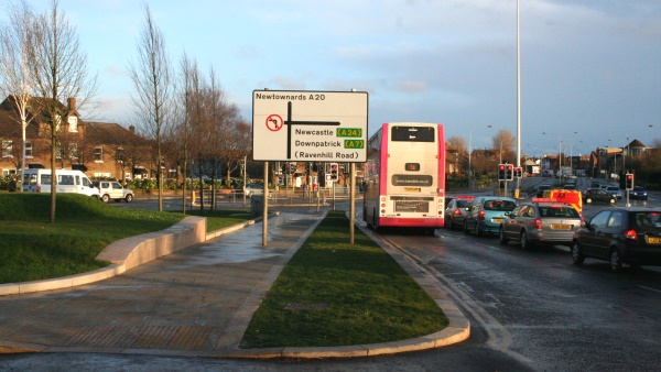 Grass lane, Albert Bridge Belfast
